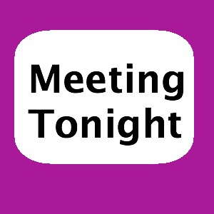 Meeting Tonight sign