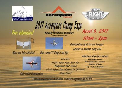 Aerospace Camp Expo Flyer