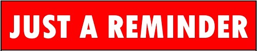 red reminder
